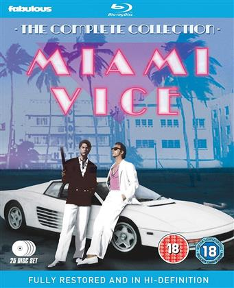 Miami Vice - The Complete Series (25 Blu-rays)