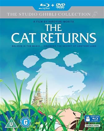 The Cat Returns (2002) (The Studio Ghibli Collection, Blu-ray + DVD)