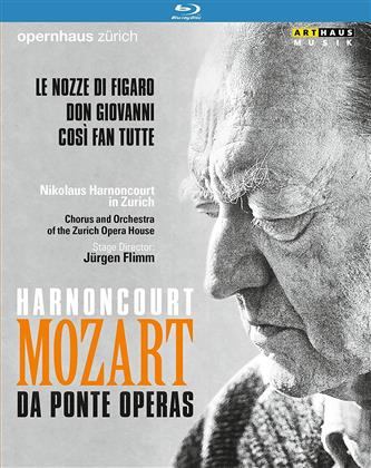 Opernhaus Zürich, … - Mozart - Da Ponte Operas - Le nozze di Figaro / Don Giovanni / Così fan tutte (Arthaus Musik, 3 Blu-rays)