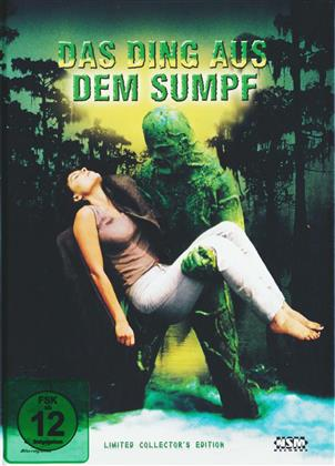 Das Ding aus dem Sumpf (1982) (Cover B, Collector's Edition, Limited Edition, Mediabook, Uncut, Blu-ray + DVD)