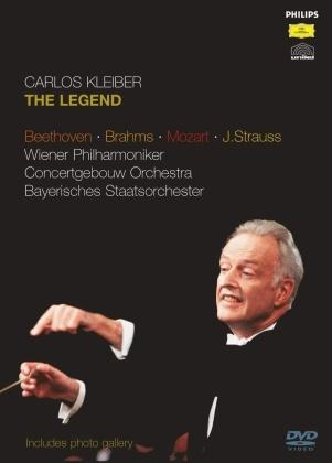 Carlos Kleiber - The Legend - Beethoven / Brahms Mozart J. Strauss (5 DVDs)