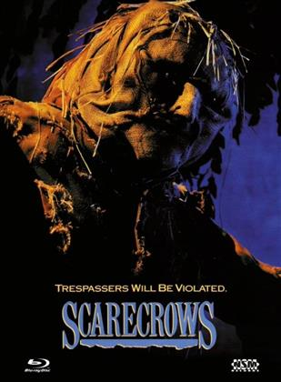 Scarecrows (1988) (Cover C, Limited Edition, Mediabook, Uncut, Blu-ray + DVD)