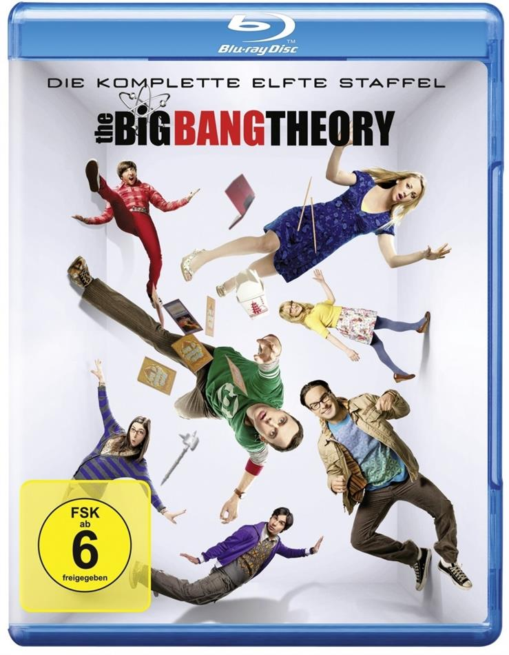 The Big Bang Theory - Staffel 11 (2 Blu-rays)