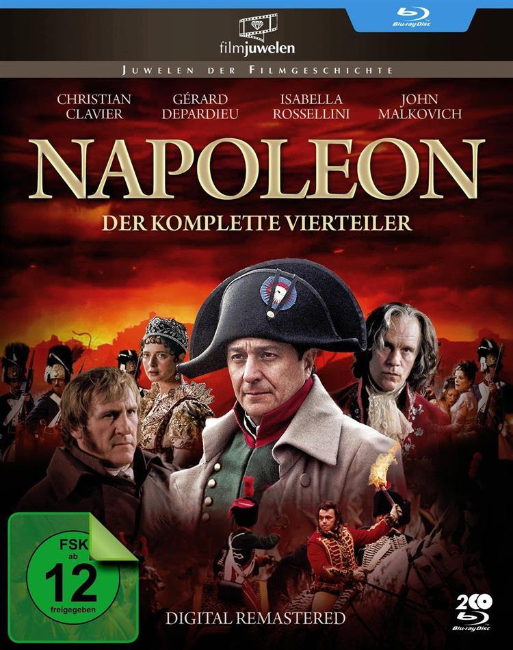 Napoleon - Der komplette Vierteiler (2002) (Fernsehjuwelen, Remastered, 2 Blu-rays)