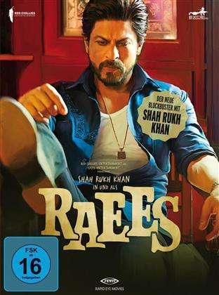 Raees (2016) (Digibook, Edizione Limitata, Edizione Speciale, Blu-ray + DVD)