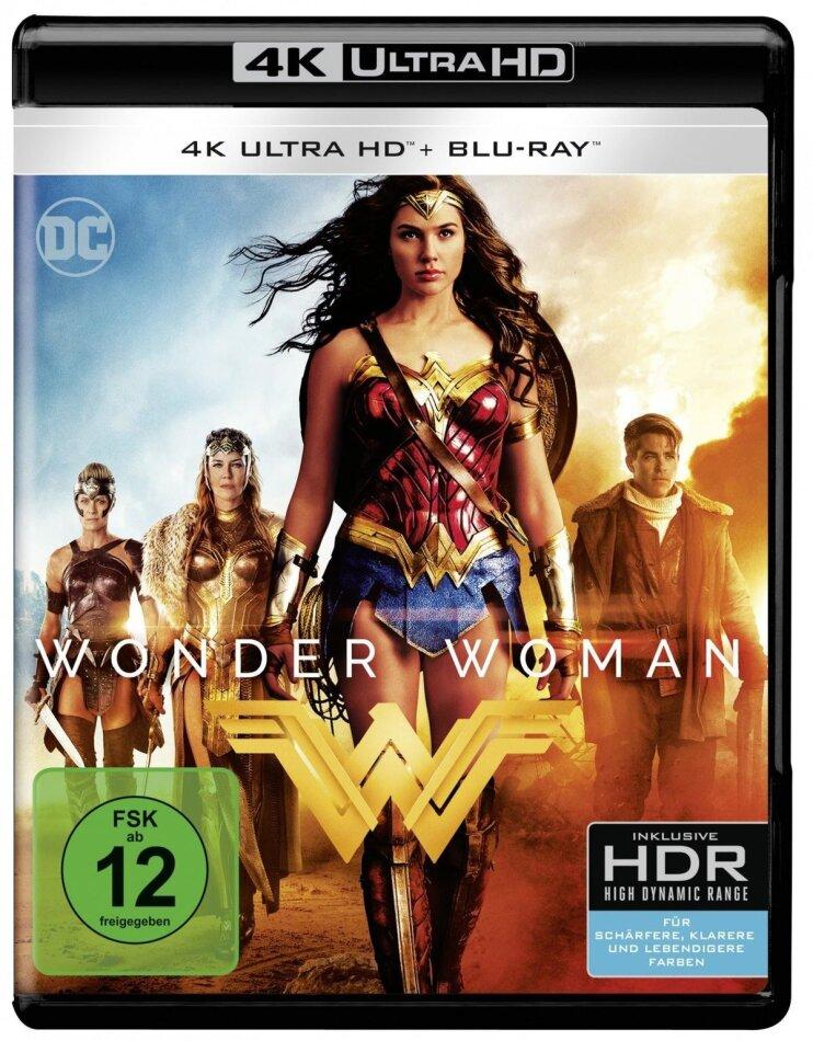 Wonder Woman (2017) (4K Ultra HD + Blu-ray)