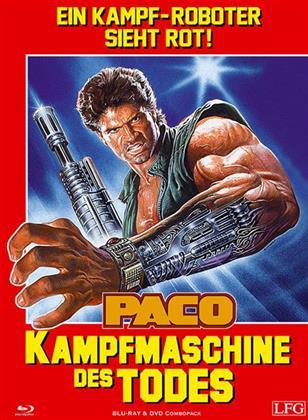 Paco - Kampfmaschine des Todes (1986) (Cover A, Edizione Limitata, Mediabook, Blu-ray + DVD)