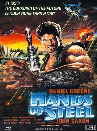 Hands of Steel (1986) (Cover B, Edizione Limitata, Mediabook, Blu-ray + DVD)
