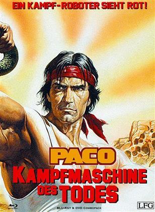 Paco - Kampfmaschine des Todes (1986) (Cover C, Edizione Limitata, Mediabook, Blu-ray + DVD)