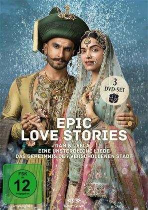Epic Love Stories - 3 Spielfilme Box (3 DVD)