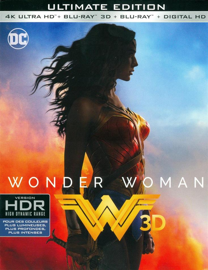 Wonder Woman (2017) (Ultimate Edition, 4K Ultra HD + Blu-ray 3D + Blu-ray)