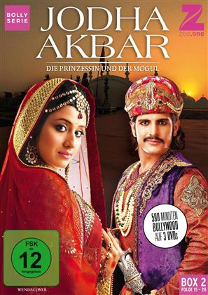Jodha Akbar - Die Prinzessin und der Mogul - Box 2 (3 DVDs)