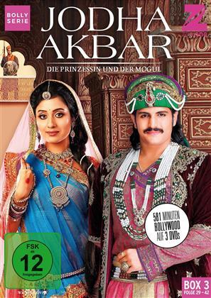 Jodha Akbar - Die Prinzessin und der Mogul - Box 3 (3 DVDs)