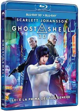 Ghost in the Shell (2017) (Blu-ray 3D + Blu-ray)