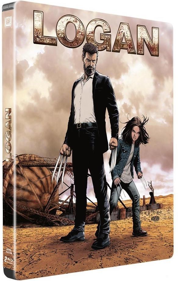 Logan (2017) (Limited Edition, Steelbook, 2 Blu-rays)