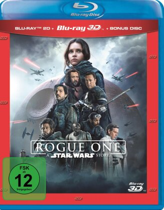 Rogue One - A Star Wars Story (2016) (Blu-ray 3D + 2 Blu-rays)