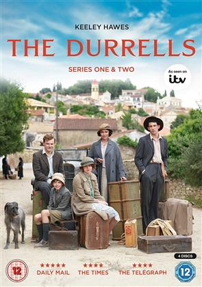 The Durrells - Series 1&2 (4 DVD)