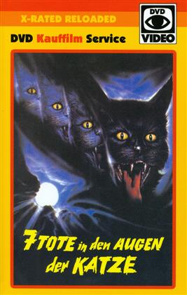 7 Tote in den Augen der Katze (1973) (Grosse Hartbox, X-Rated Reloaded, Uncut)