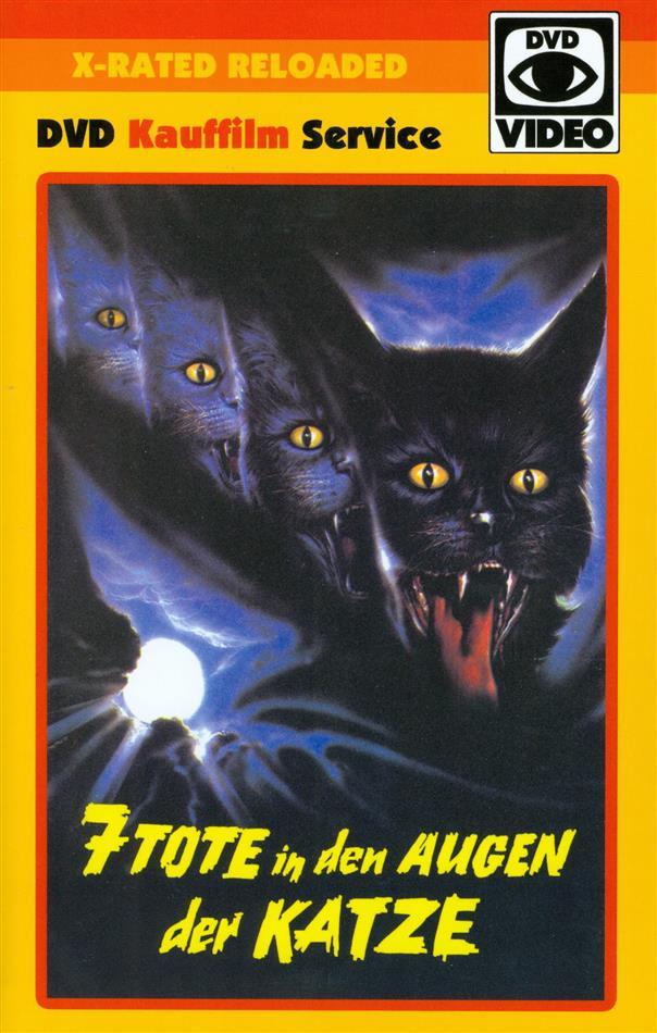 7 Tote in den Augen der Katze (1973) (Grosse Hartbox, X-Rated Reloaded, Uncut)