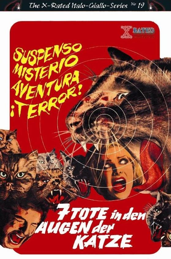 7 Tote in den Augen der Katze (1973) (Grosse Hartbox, Cover B, The X-Rated Italo-Giallo-Series, Uncut)