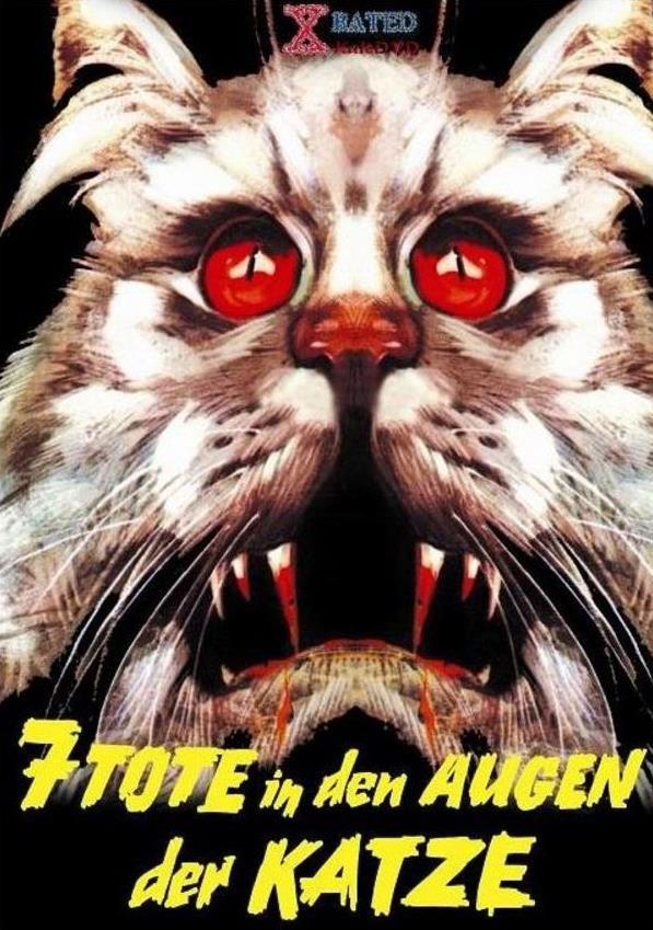 7 Tote in den Augen der Katze (1973) (Kleine Hartbox, Uncut)