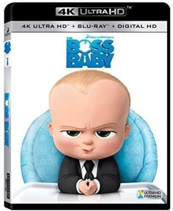 The Boss Baby (2017) (4K Ultra HD + Blu-ray)