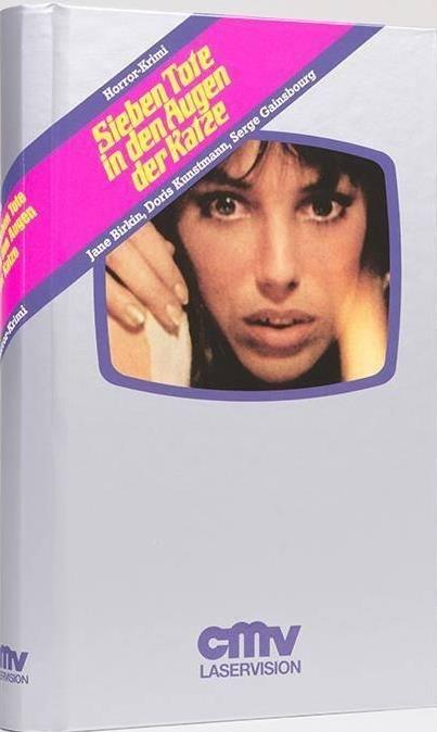 7 Tote in den Augen der Katze (1973) (Grosse Hartbox, VHS-Edition, Edizione Limitata, Uncut)