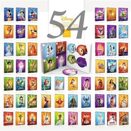 Disney 54 Grands Classiques (Disney Classics, Limited Edition, 54 DVDs)