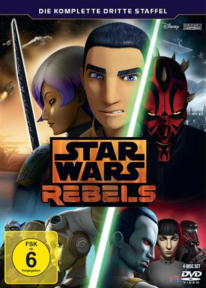 Star Wars Rebels - Staffel 3 (4 DVDs)