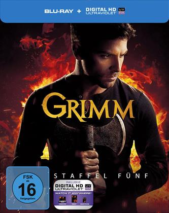 Grimm - Staffel 5 (Limited Edition, Steelbook, 5 Blu-rays)