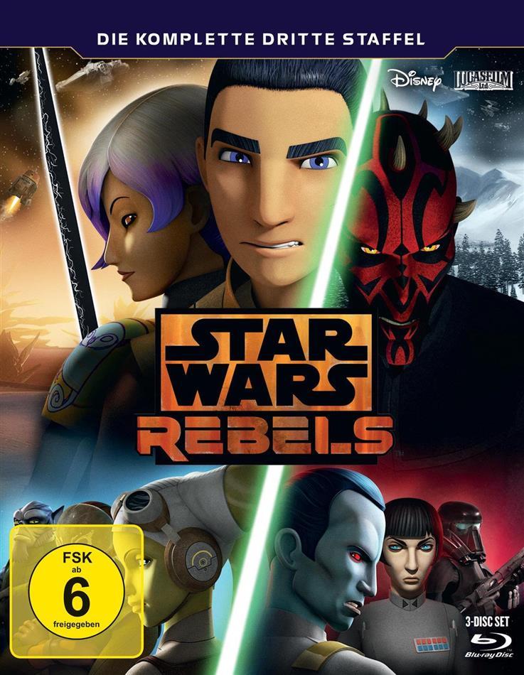 Star Wars Rebels - Staffel 3 (3 Blu-rays)