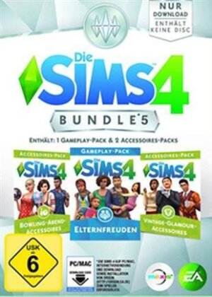 Sims 4 PC ADDON Bundle Pack 5 (Code in a Box)