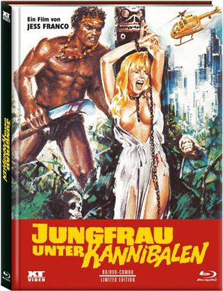 Jungfrau unter Kannibalen (1980) (Cover A, Limited Edition, Mediabook, Uncut, Blu-ray + DVD)