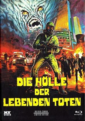 Die Hölle der lebenden Toten (1980) (Cover B, Limited Edition, Mediabook, Uncut, Blu-ray + DVD)