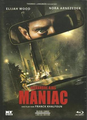 Maniac (2012) (Cover A, Limited Edition, Mediabook, Uncut, Blu-ray + DVD)