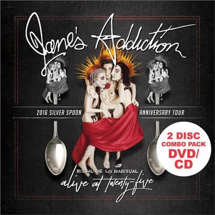 Jane's Addiction - Alive At Twenty-Five - 2015 Silver Spoon Anniversary Tour (DVD + CD)