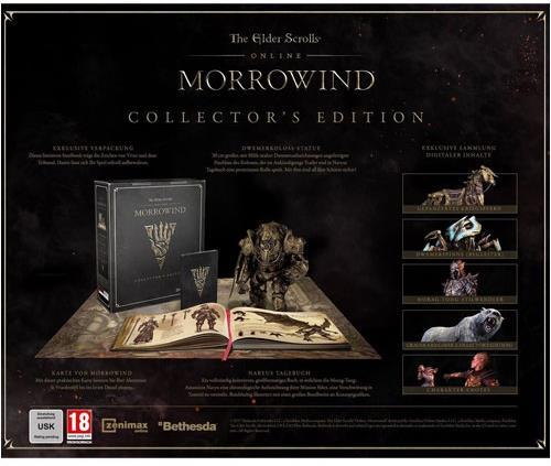 The Elder Scrolls Online: Morrowind (Collector's Edition)