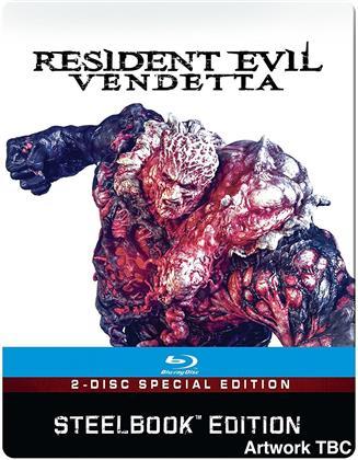 Resident Evil - Vendetta (2017) (Steelbook, 2 Blu-rays)