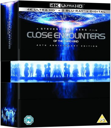 Close Encounters of the Third Kind (1977) (40th Anniversary Edition, 4K Ultra HD + 2 Blu-rays)