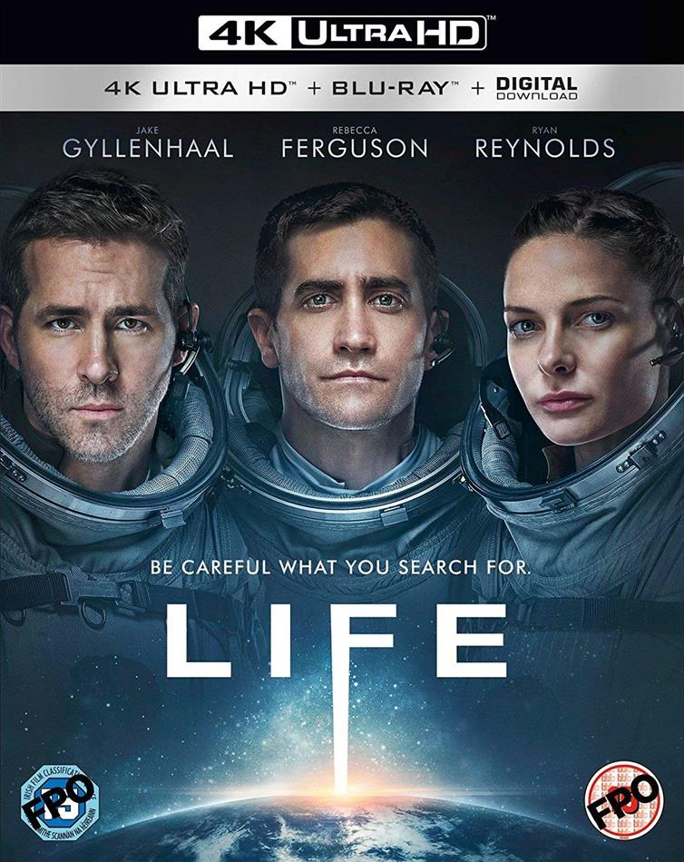 Life (2017) (4K Ultra HD + Blu-ray)