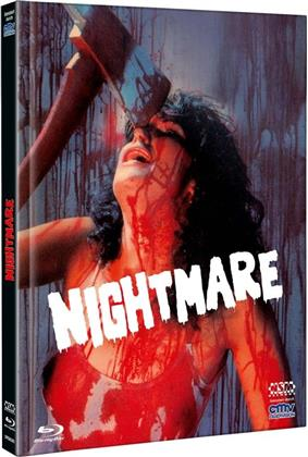 Nightmare (1981) (Cover D, Limited Edition, Mediabook, Uncut, Blu-ray + DVD)