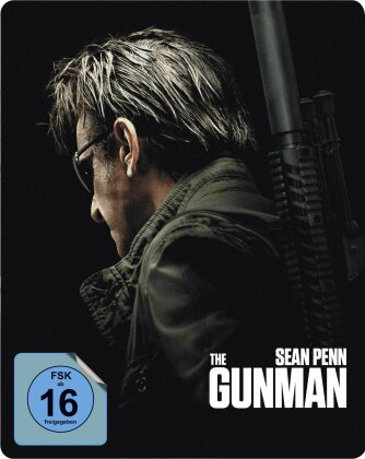 The Gunman (2015) (Limited Edition, Steelbook)