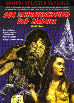 Der Schreckensturm der Zombies - Devil's Tower (1972) (Cover B, British Splatter Classics, Limited Edition, Mediabook, Uncut, Blu-ray + DVD)