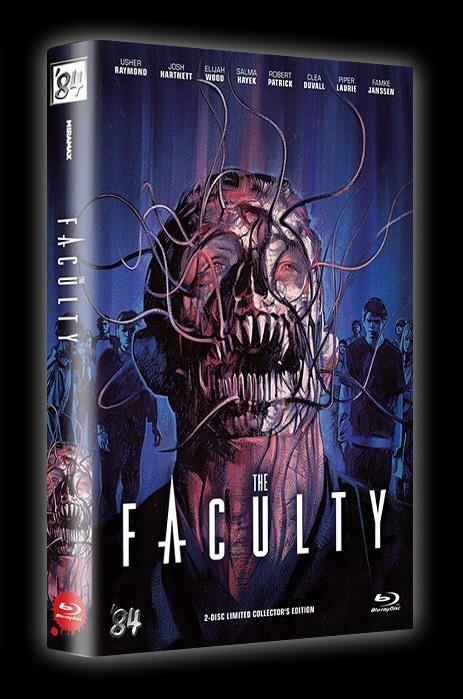 The Faculty (1998) (Cover A, Grosse Hartbox, Collector's Edition, Limited Edition, Uncut, Blu-ray + DVD)