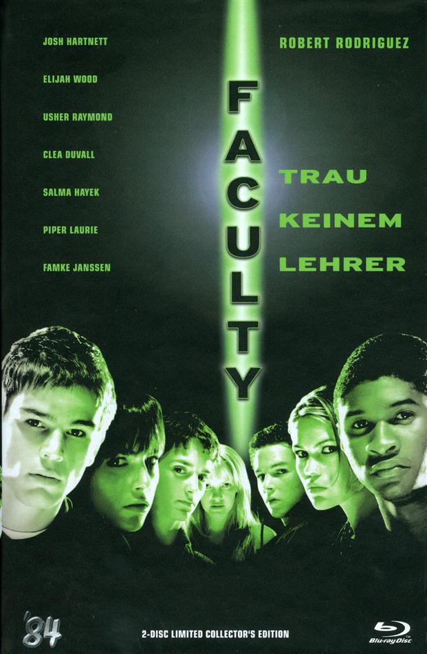 Faculty (1998) (Cover B, Grosse Hartbox, Collector's Edition, Limited Edition, Uncut, Blu-ray + DVD)