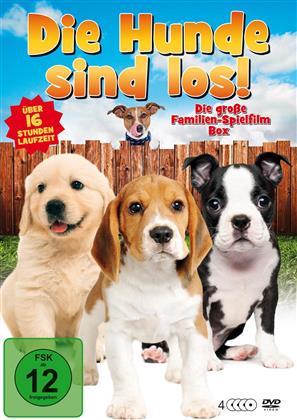 Die Hunde sind los - Die grosse Familien-Spielfilm Box (4 DVDs)