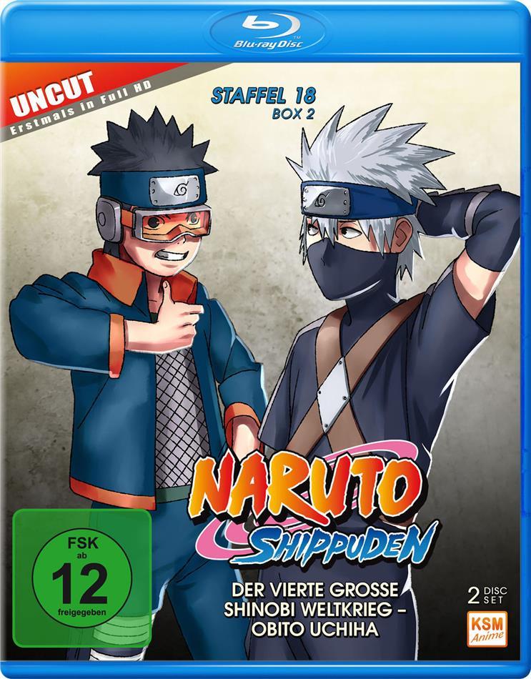 Naruto Shippuden - Staffel 18 Box 2 (Uncut, 2 Blu-rays)
