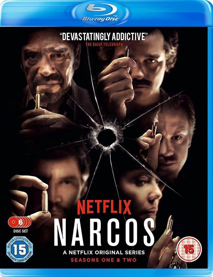 Narcos - Season 1 & 2 (6 Blu-rays)