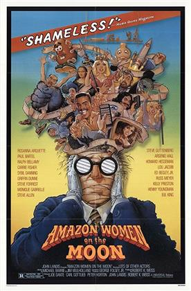 Amazon Women on the Moon (1987) (DualDisc, Blu-ray + DVD)
