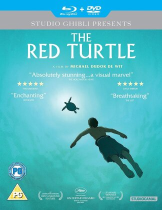 The Red Turtle (2016) (Blu-ray + DVD)